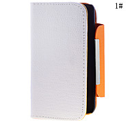 Classic Solid Color PU Leather Full Body Case for Samsung i9100(Assorted Color)