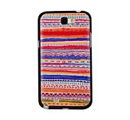 Elonbo J7A raya Tribal Restauración de la antigua cubierta Maneras duro de nuevo caso para Samsung Galaxy Note N7100 2