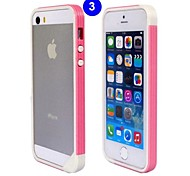 High-end TPU Spell Color Bumper Frame for iPhone 4/4S