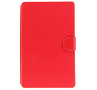 9inch Universal PU Leather Lichee Pattern Case with Stand Micro USB Keyboard for Tablet PC (Assorted Colors)