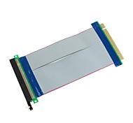 HuoLongWang GTX02 PCI-E 1x macho a PCI-E 16X cable adaptador hembra - (20cm)