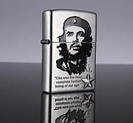 Celebrities Metal Oil Lighter (Random Pattern)