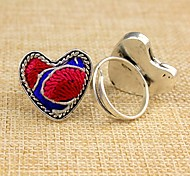 New Style Vintage Hand Embroidery Women's Ring(1 Pc)