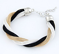 BaoGuang®Simple Metal Braided Temperament Bracelet