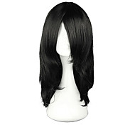 Harajuku Style Cosplay Synthetic Wig Naruto Orochimaru Straight Long Wig(Black)