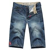 Men's Casual Short Jeans