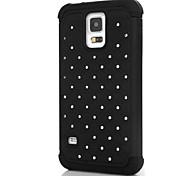 Little Diamond Pattern Hard Case for Samsung Galaxy S5 I9600