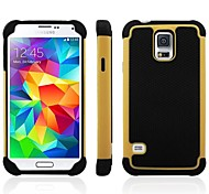 3-in-One-Hit Ball Pattern Color Design Silikon und PC Material Back Cover Schutzhülle für Samsung i9600 Galaxy S5