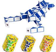 2.5cm Plastic Magic Cube Puzzle 2x48 Parts Lobster Shape Toy(Random Color)