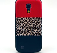 Leopard Flag Pattern Hard Back Cover Case for Samsung Galaxy S4 Mini I9190