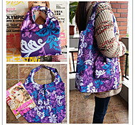 Folding impermeável Eco-friendly Design Pattern Especial Shopping Bag