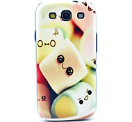Colorful Towel Cakes Pattern Hard Back Case Cover for Samsung Galaxy S3 I9300