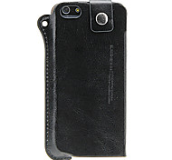 Universal PU Leather Pouch Case with Strap for iPhone 5s/5c/5