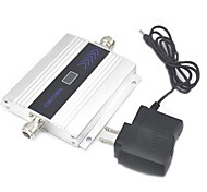 LCD Display Mini GSM 900Mhz Mobile Phone Signal Booster , GSM Signal Repeater + Power Adapter