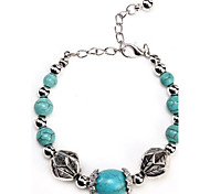 Coway3000039 Ancient Silver Turquoise Bracelet