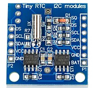 DIY  I2C RTC DS1307 Real Time Clock Module for (For Arduino) (1 x LIR2032)