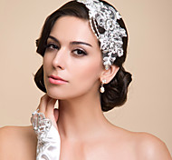 Women's Lace/Rhinestone/Imitation Pearl Headpiece - Special Occasion Headbands