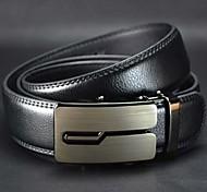 Moda Uomo e contratti Leather Belt Buckle automatico