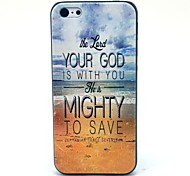 Il Mare il cielo e Hard Case Dio Pattern for iPhone 5C