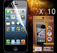 Protective HD Screen Protector for iPhone 4/4S(10PCS)