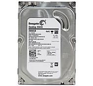 """seagate st2000dx001 SATA3 3.5 """"2tb sshd disco duro interno para el escritorio"""