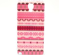 Pink Flower Tribal Carpet Pattern Hard Back Case Cover for Samsung Galaxy Note 3 Lite