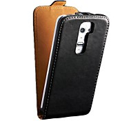 Flip Genuine Leather Case for LG G2 Mobile Phone Cover New Arrival