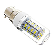 5W B22 LED Corn Lights T 36 SMD 5730 350 lm Cool White Dimmable AC 220-240 V