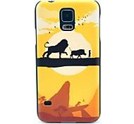 Für Samsung Galaxy Hülle Muster Hülle Rückseitenabdeckung Hülle Zeichentrick PC Samsung S5