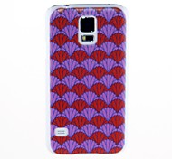 Kinston Pink der Fan-Muster Kunststoff Hard Case für Samsung i9600 S5