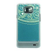 Totem  Leather Vein Pattern Hard Case for Samsung Galaxy S2 I9100