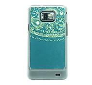 Totem Leder Vene Muster Hülle für Samsung Galaxy S2 I9100