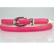 Women Skinny Belt , Cute/Casual Leather