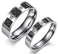 titane quelques acier anneaux
