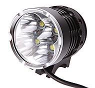M7084 4-Mode 4xCree XM-L2 T6 luz de bicicletas recargable (4x18650, 3000LM)