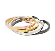 Elegant Fashion Titanium Steel Women Bracelet Bangle