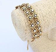 European and American Fashion Retro Metal Plum Bracelet