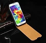 Caso del tirón del cuero genuino para Samsung Galaxy i9600 S5