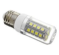 Dimmbar Mais-Birnen E26/E27 4 W 250 LM 6000-7000 K 36 SMD 5050 Kühles Weiß AC 220-240 V