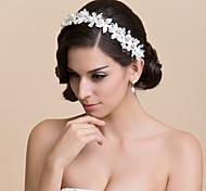 da sposa in pizzo / fiore speciale occasione con perla d'imitazione e strass