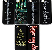 Jack Pattern Hard Case for iPhone 5/5S(Assorted Color)
