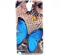 Hard Cover posteriore di caso Bella Farfalla modello per Samsung Galaxy Note 3 Lite