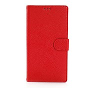 Lichee Pattern Luxury Pattern Wallet Leather Case for Nokia N1520(Assorted Colors)
