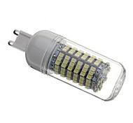 5W G9 LED Corn Lights T 138 SMD 3528 440 lm Natural White AC 220-240 V