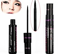 1 PCS Smooth Waterproof Liquid Eye Liner Make Up Cosmetic Black Eyeliner Black Casing 10813