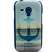 For Samsung Galaxy Case Pattern Case Back Cover Case Anchor PC Samsung S3 Mini