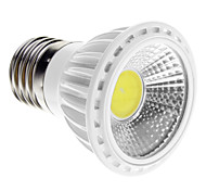5W E14 / GU10 / E26/E27 LED Spotlight 1 COB 450-480 lm Warm White / Cool White Dimmable AC 220-240 V