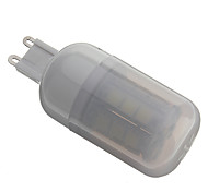Bombillas Mazorca G9 3 W 27 SMD 5050 330 LM 6000K K Blanco Natural AC 110-130/AC 100-240 V