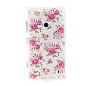 Kinston Flor floreciente diamante TPU Patrón Pega Soft Case para Nokia Lumia 520