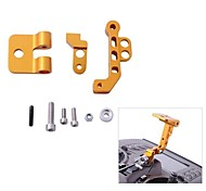 CNC Aluminum Alloy FPV Monitor Mounting Bracket for Transmitters in Gold